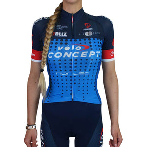 Summer Short Sleeve Jersey - Team VeloConcept Women