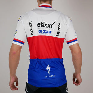 "Podium Jersey SS ""Czech Champion Petr Vakoc"" Etixx - Quick-Step"
