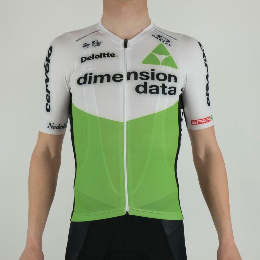 Short sleeved Jersey - Dimension Data