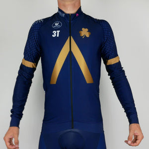 Long Sleeve Jersey - PRR - Aqua Blue Sport