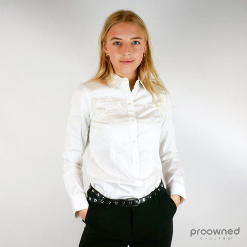 Oakley LS Solid Woven Shirt White - Women - Dimension Data