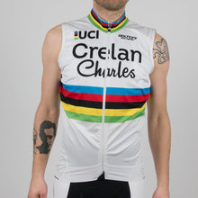 "Wind Vest ""World Champion - W. Van Aert"" - Veranda's Willems Crelan - New"