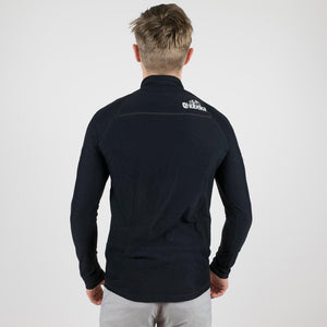 Oakley 1/4 Zip Base Layer Blackout - Dimension Data