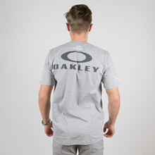 Oakley Bark Repeat T-shirt Heather Grey - Dimension Data
