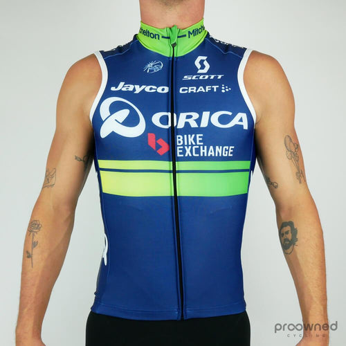 Thermal Vest - Orica-BikeExchange