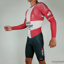 Long Sleeve Skinsuit Danish Champion - Team VeloConcept