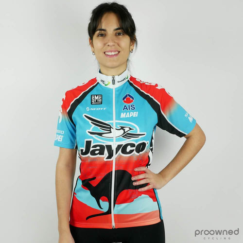 Short Sleeve Jersey Women - Jayco-AIS