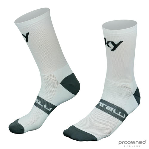 Castelli Free 12 Socks - Team Sky