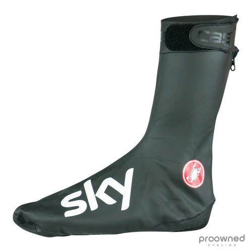 Castelli Pioggia 3 Shoe Covers - Team Sky