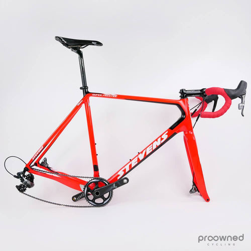 Stevens Super Prestige - 60cm -  cross bike - Sram Force 1 - Vérandas Willems-Crelan - 2
