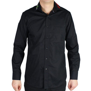 Black shirt long ColoQuick-Cult