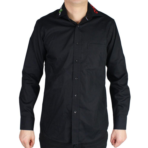 Shirt - Black - Long sleve - ColoQuick-Cult