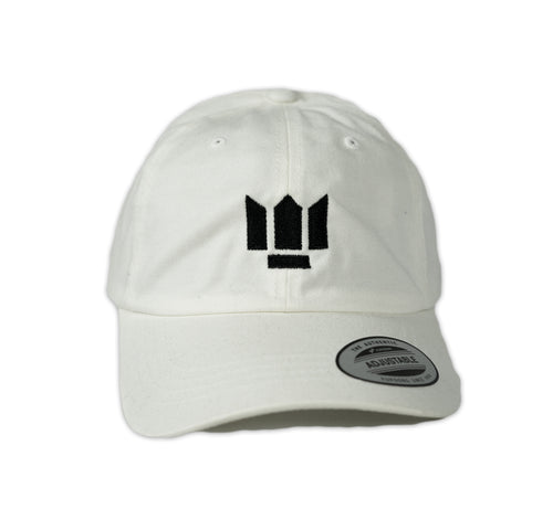 The Crown Dad Hat - White