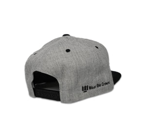 The Crown Snapback - Grey\Black