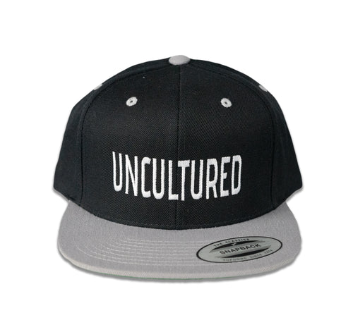 Uncultured Snapback - Black\Grey
