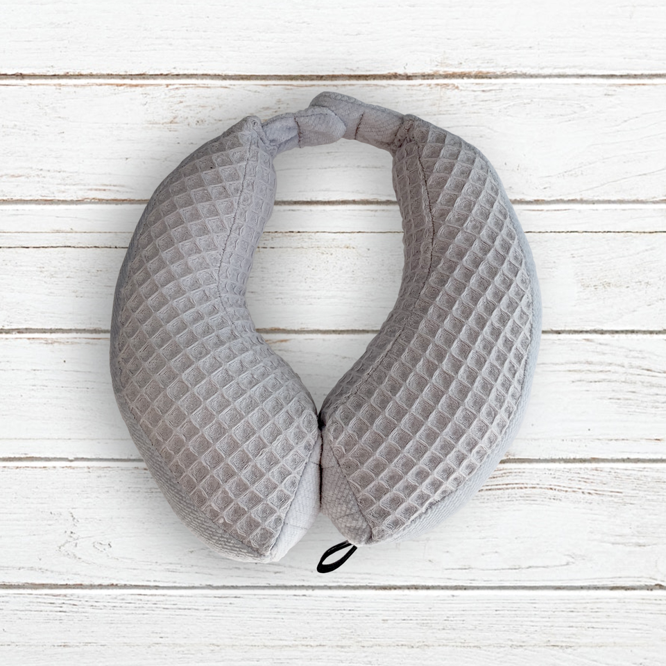 Magnetic travel neck pillow Size S (1-2 years) Baby Grey