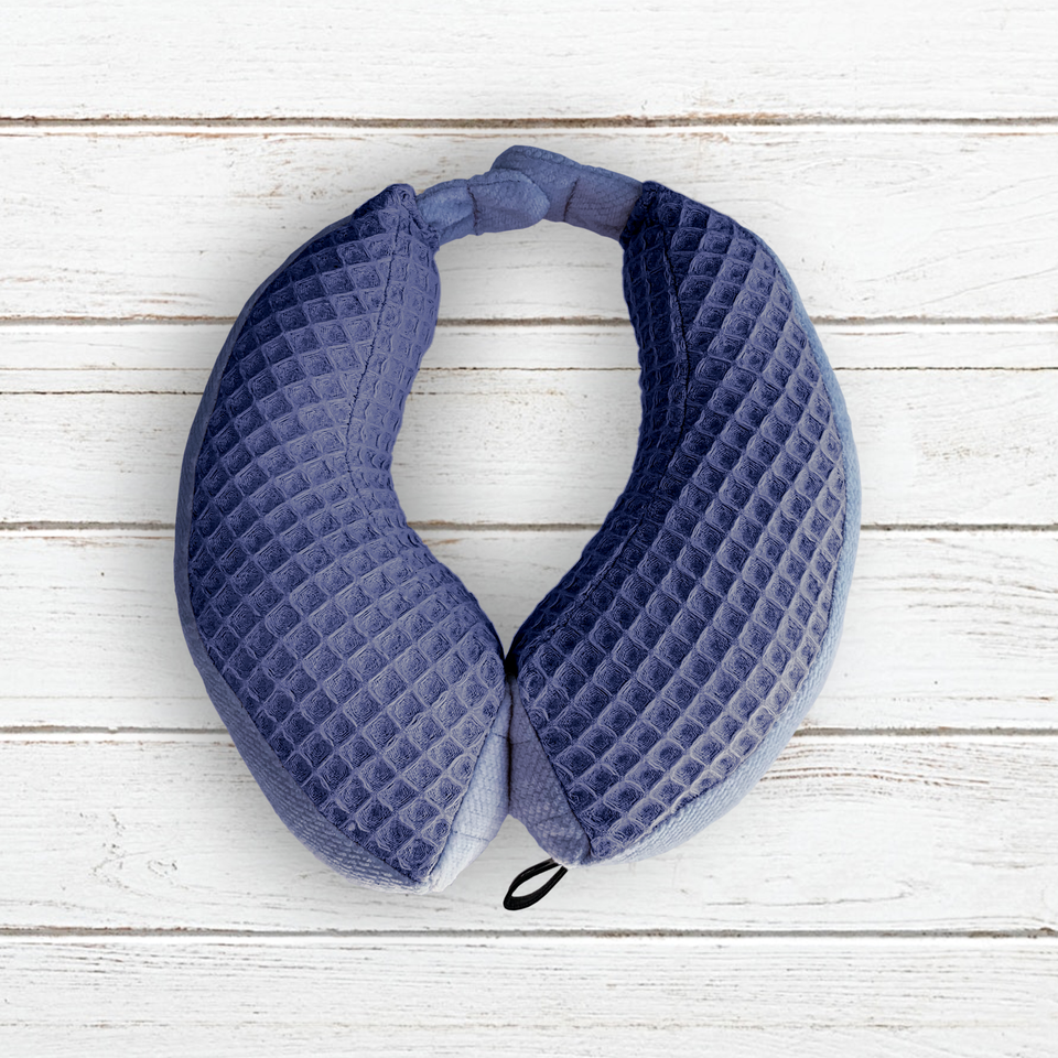 Magnetic travel neck pillow Size S (1-2 years) Denim