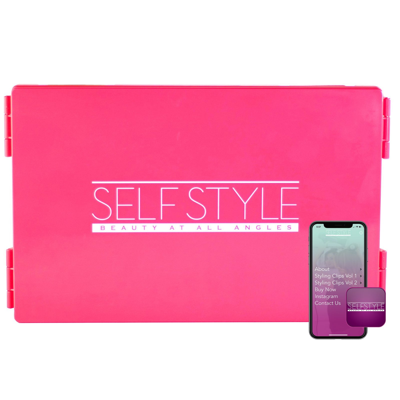 Self Style Travel Version - Pink