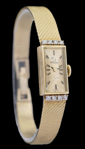 Omega 14k Yellow Gold Ladies Tank