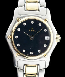 Ebel 1911 Ladies Two-Tone Diamond Dial