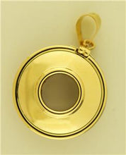 Tiffany & Co Gold & Sterling Silver Reversible Life Saver Pendant, By Paloma Picasso