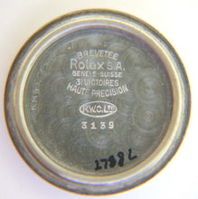 Rolex Oyster Army 3139 Cushion Watch WW2 c 1942