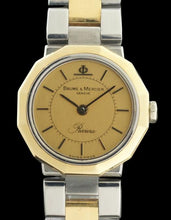 Baume & Mercier Riviera 5220.038 18k Yellow Gold & Stainless Steel Quartz Watch
