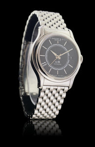 Bedat No. 8 Stainless Steel Automatic Watch Black Dial