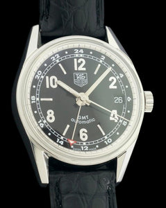 TAG Heuer Carrera GMT Stainless Steel Automatic Watch WV2113
