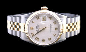 Rolex Datejust White Jubilee Dial 36mm