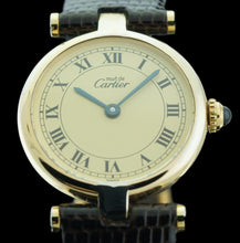 Must De Cartier Vermeil Ladies Roman