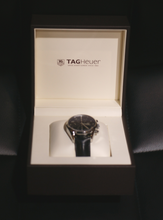 TAG Heuer Carrera Heritage CAS2110 Automatic Chronograph Watch Black Dial