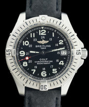 Breitling Colt A74350 Stainless Steel Quartz Watch Black Dial