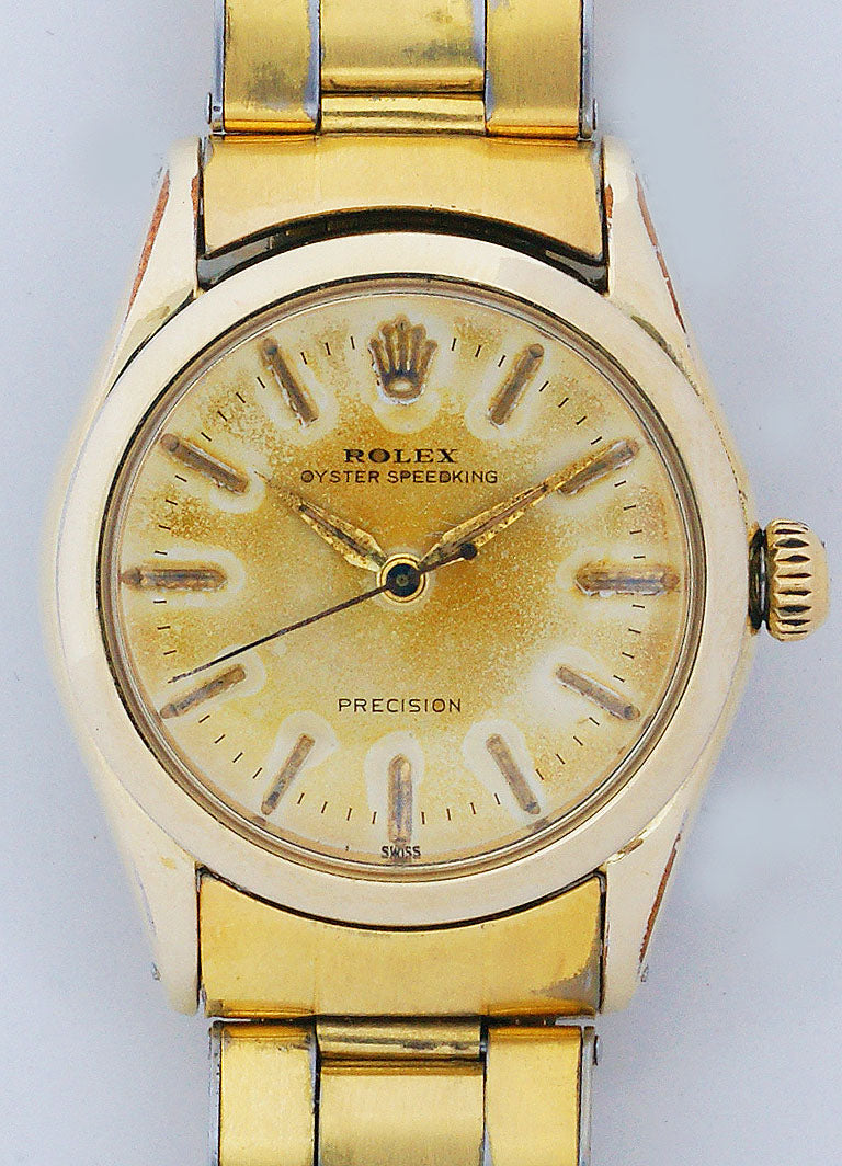 Rolex Oyster Speedking Midsize Precision Watch Shell Model 6418