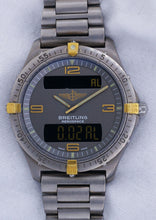 Breitling Aerospace Digital Multifunction 18k Yellow Gold & Stainless Steel Men's Quartz Watch