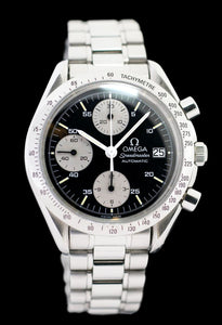 Omega Speedmaster Automatic Date Stainless Steel Watch
