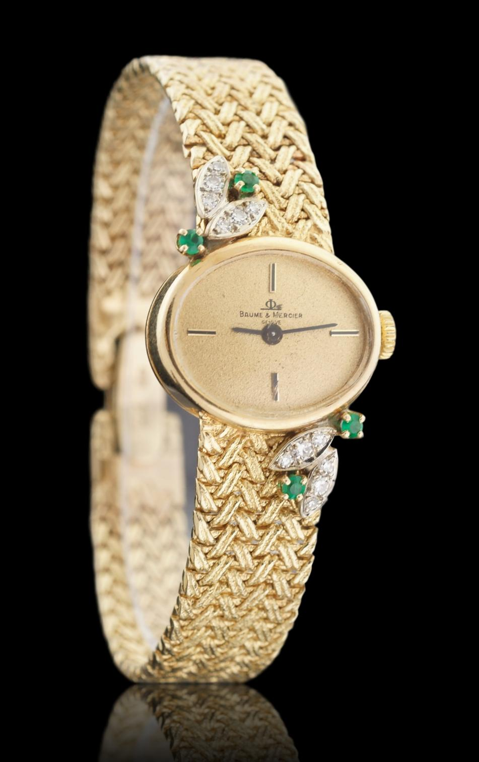 Baume & Mercier 14k Yellow Gold 1970's Ladies Watch