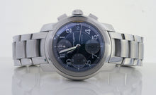 Baume Mercier Capeland Stainless Steel Mens Automatic Watch Tuxedo Dial