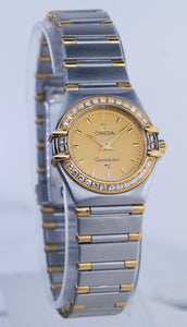 Omega Constellation Diamond Dial