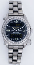 Breitling Emergency Transmitter E76321 Titanium Men's Superquartz Watch 43mm