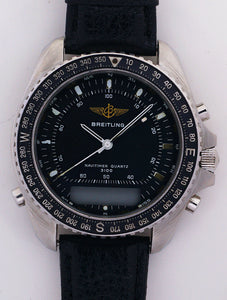 Breitling Navitimer Quartz 3100 Stainless Steel Men's Quartz Watch Ref. 80 191