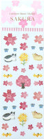 Sakura Stickers - Sakura & Cats YHW42