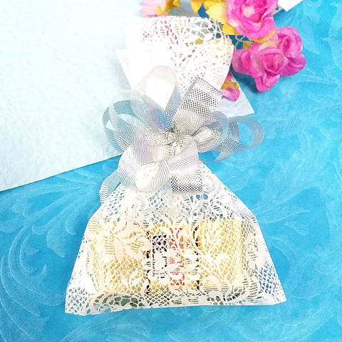 Printed Royal Lace Cello Bags
