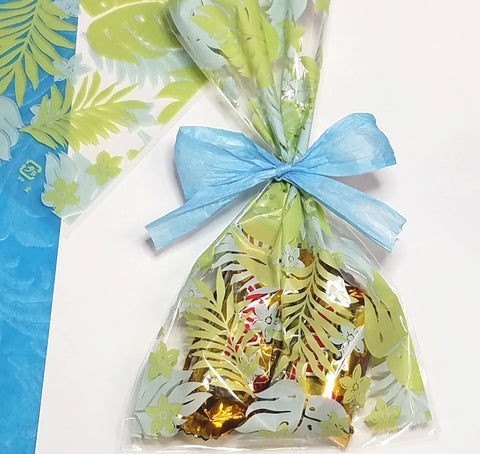 Printed Welina Tropical Cello Bags