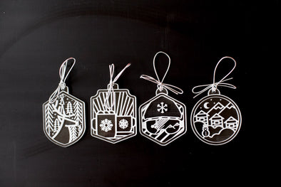 Acrylic Ornament Set