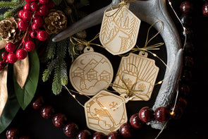 Holiday Ornaments - Birch