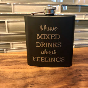 Flask - 6oz Personalized