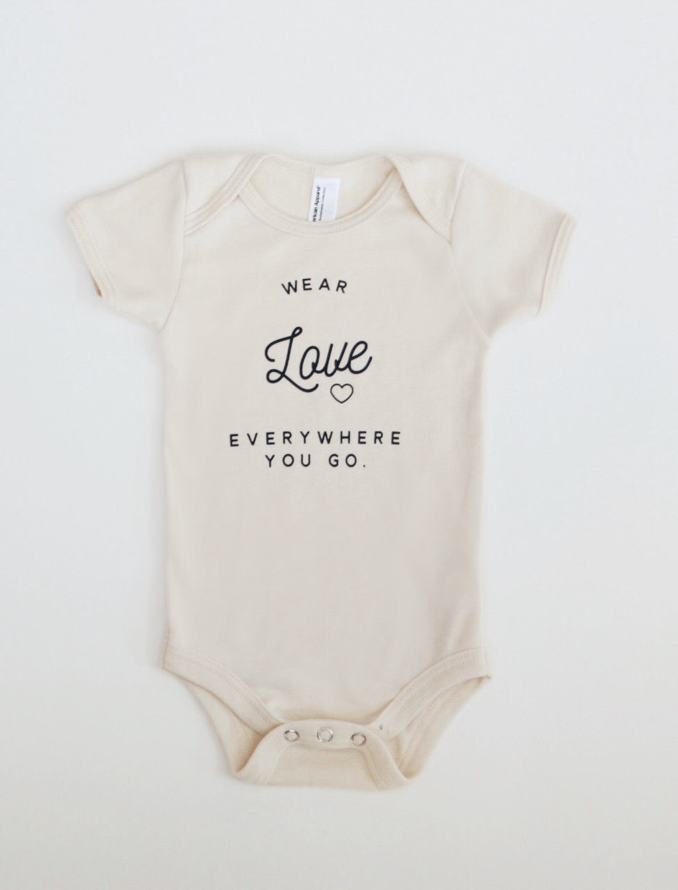 Wear Love Onesie