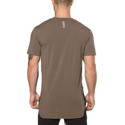 ECLIPSE BROWN T SHIRT