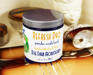 Refresh - Powder Cleanser/Scrub/Mask - Blue Dawn Aromatherapy